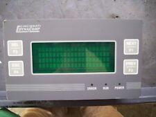 Total Control 5412 Cincinnati dynacomp VFD display 4x20 HMI