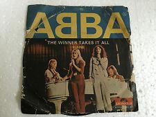 ABBA ELAINE/WINNER TAKES IT INDIA unique cover PS SINGLE 45 *mega rare* VG+