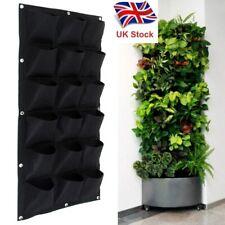 Reino Unido stock 18 Bolsillo Colgante De Pared De Patata Plantación Bolsa/Bolsa/Bolso Grande planta crece