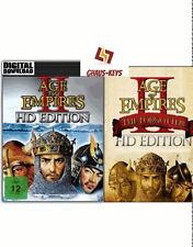Age of Empires 2 II HD + The Forgotten ESPANSIONE PC Steam Key Global SPEDIZIONE LAMPO