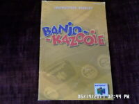 Banjo Kazooie (Nintendo 64) Instruction Manual Booklet Only... NO GAME