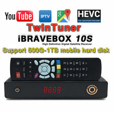Ibravebox F10s HD Digital Satellite TV Receiver IPTV HDMI PVR H2.65 Two Tuner AU