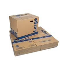 Pengear Large Recycled Moving And Storage Boxes 24 L X 16 W X 19 H Kraft
