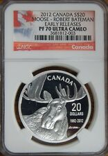 2012 Canada S$20 Moose-Robert Bateman NGC Early Releases PF70 Ultra Cameo