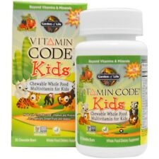 Garden of Life, Vitamin Code, Kids, Chewable Whole Food Multivitamin for Kids,30