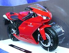 DUCATI 1198 NEW RAY 57143 1:12 NEW MODEL BIKE RED MOTORBIKE NEWRAY