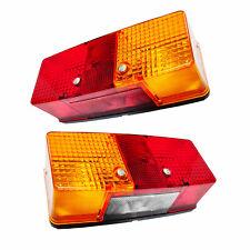 REAR COMBINATION LIGHT SET FOR DEUTZ-FAHR MASSEY FERGUSON TRACTORS, 3710792M91