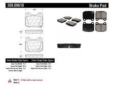 Disc Brake Pad Set-WRX STI Limited Rear Stoptech 309.09610