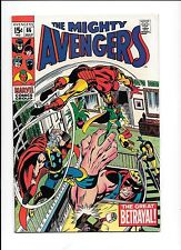 The Avengers #66 July 1969 1st mention of Adamantium metal Wolverine