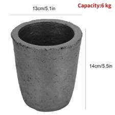 4/6/8kg Cup Shape Carbide Graphite Furnace Casting Crucible Melting Tool