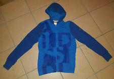 Adidas Hoodie Gr. 164 blau