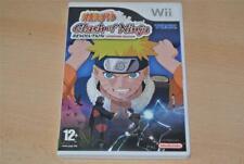 Naruto Clash of Ninja Revolution European Edition Nintendo Wii PAL