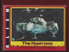 1979 TOPPS ALIEN COMPLETE BASE CARD SET OF 84 NM TO MINT