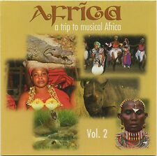 A Trip to the Music Of AFRICA Vol. 2 by CLAUDE LARSON rare The World In Music CD