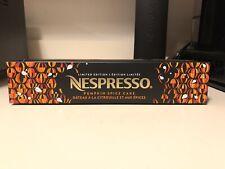 Nespresso Vertuo Pumpkin Spice Cake Pods Limited Edition Brand New