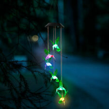 GloBrite LED Solar Wind Chimes Garden Lights