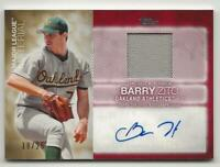 2020 Topps Series 2 BARRY ZITO Major League Material AUTO RELIC 18/25 Autograph