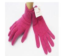 Ladies 100% Scottish Cashmere Pink Gloves - Made in Scotland