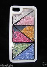 Strass Case für Apple iPhone 5 5S Back Cover Schutz Bumper Strass Hülle & Box