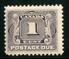 CANADA SCOTT#J1  MINT LIGHT  HINGED STAMPS--SCOTT VALUE $25