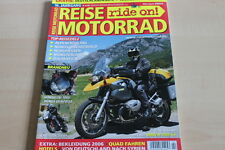 151659) Kawasaki ER-6F - BMW R 1200 GS - Reise Motorrad 02/2006