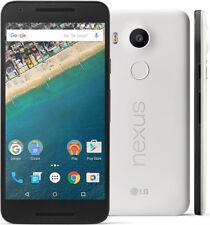"5.2"" LG Google Nexus 5X H791 16GB/32GB GSM 4G LTE 13MP Smartphone White/Green"