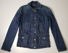 Vintage RALPH LAUREN Jeans Co Jean Jacket RL Denim Coat Fitted Riding Small