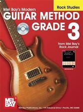 Moderno método de guitarra de grado 3, Rock estudios