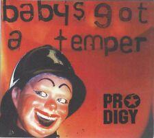 PRODIGY - BABY'S GOT A TEMPER 2002 UK CD DIGIPAK MPO BROADCREST MATRIX XLS145CD