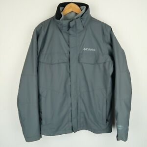 Columbia Omni tech 3 in 1 Coat Jacket fleece Walking Hiking SZ Medium (G825)