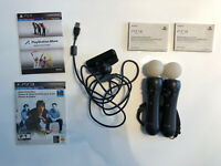 Sony PlayStation Move Motion Controller Set of 2 with Camera + demo disk SEALED!