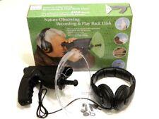 Microfono direzionale con cuffia per ascolto a distanza di suoni ambientali #