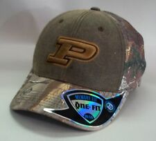 timeless design 19677 78382 Purdue Boilermakers Hat Memory Fit Top of The World Habitat Realtree M l