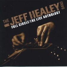 "Jeff Healey Band ""full Circle the Live Anthology"" 3 CD DVD"