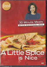 FOOD NETWORK RACHAEL RAY LITTLE SPICE IS NICE (DVD, 2007) NEW