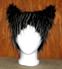 BIG BAD WOLF EAR FUR HAT DOG KITTY CAT COSTUME ANIME COSPLAY CYBER FESTIVAL EDC