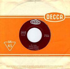"""7"""" Caterina Valente – Io Credo / Sucu Sucu / italienisch gesungen // D 1961"""
