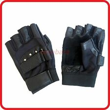 SWAT AIRSOFT PAINTBALL GEAR HALF FINGER FINGERLESS GLOVES-HIPHOP CYCLING