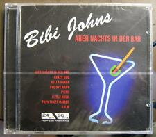 "BIBI JOHNS ""ABER NACHTS IN DER BAR"" - CD - OVP"