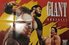 Giant Gonsalez (El Gigante) vs Tito Santana 1993 DIN-A1 POSTER WWE WWF Wrestling