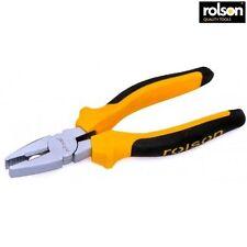 Rolson Combinazione Pinze con manico ad immersione 200mm Cutter filo elettrico