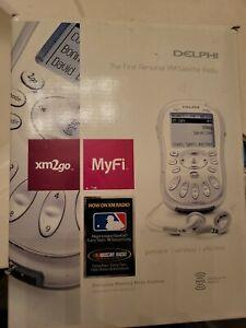 Delphi XM2GO MyFi Sirius XM Satellite Radio w/ Home & Car Kit LIFETIME SUBSCRIPT