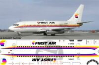 V1 Decals Boeing 737-200 First Air for 1/144 Airfix Model Airplane Kit V1D0024