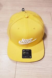 NEW Nike Pro Snapback Adjustable Hat Cap Yellow