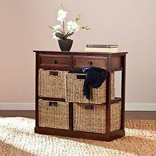 Southern Enterprises - HZ6754 - Kenton 2-Drawer/4-Basket Storage Hz6754 New