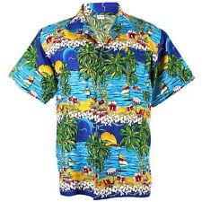 Rayon Hawaiian Casual Shirts for Men