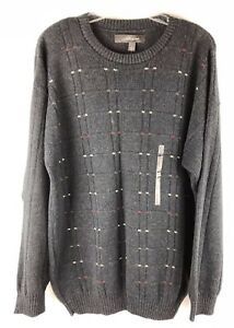 New, CROFT & BARROW Mens Sweater Size L, Large , G, Made In USA