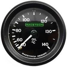Racetech Oil Temperature Gauge - Mechanical + Back Light & 7ft Capilary