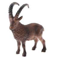 Goat Animal Model Action Figure Toy Collectible Zoo Layout Collectibles