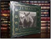 Jumanji ✎SIGNED✎ by CHRIS VAN ALLSBURG New Easton Press Leather Bound Hardback
